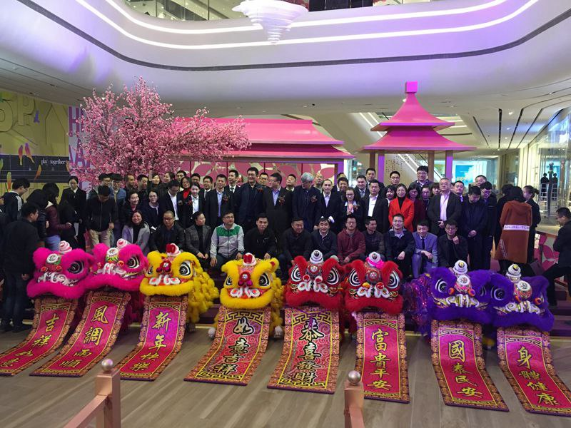 桂林春节舞狮