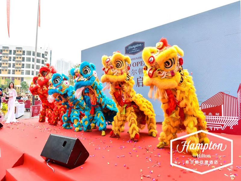 宁波酒店开业舞狮